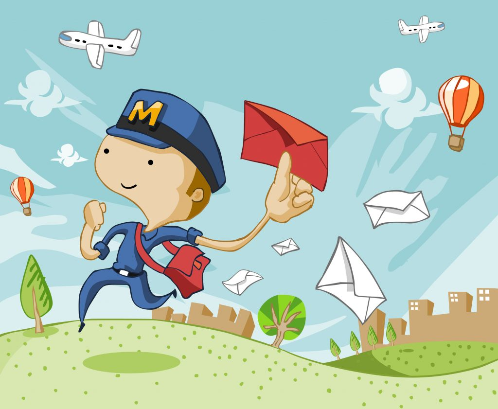 Direct Mail Postal Worker